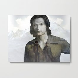Sam Winchester Fan Art Metal Print