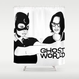 Ghost World Shower Curtain