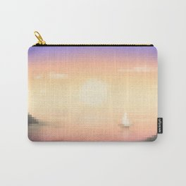 Purple Cove Carry-All Pouch