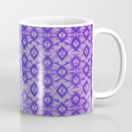 blue tie dye in small repeat Coffee Mug