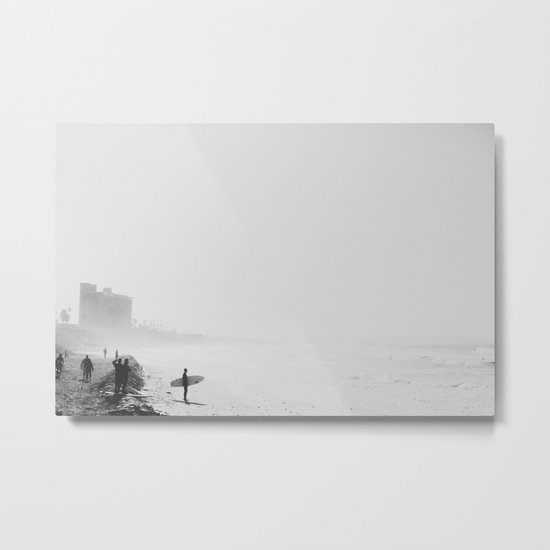 San Diego Surf Beach Metal Print
