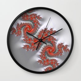 Year of the Dragon - Fractal Art Wall Clock