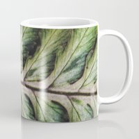 fern Mugs featuring fern by Bonnie Jakobsen-Martin