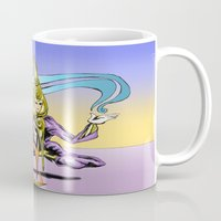 alchemy Mugs featuring Alchemy  by Daniel McGuiness