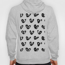 Love Pattern Hoody