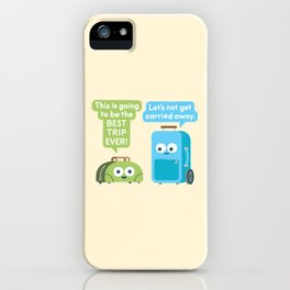 Staying Grounded iPhone Case