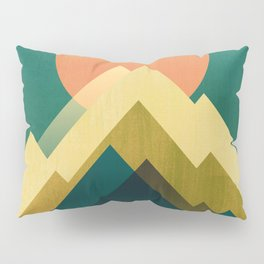 Gold Peak Pillow Sham