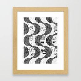 Copacabana - RJ Framed Art Print