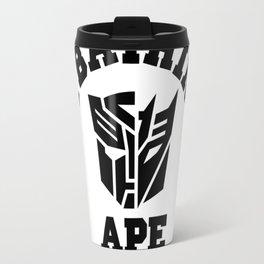 a bathing ape transformers Travel Mug