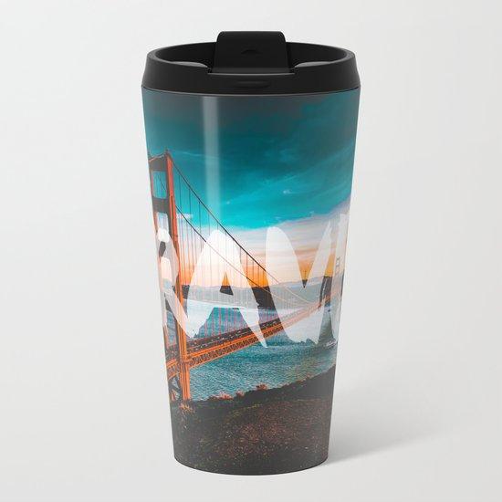 TRAVEL San Francisco Metal Travel Mug