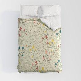 Flowers pattern Comforters