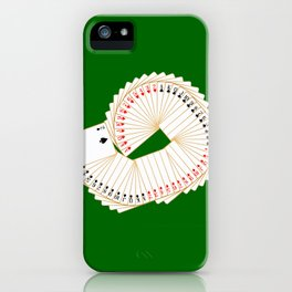 Playing Card Spread iPhone Case