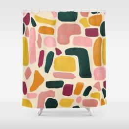 Blocks Shower Curtain
