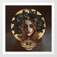 ginger gold Art Print