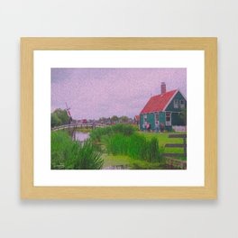 Monet style no.3 Framed Art Print