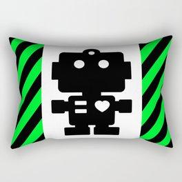Cute Robot Rectangular Pillow