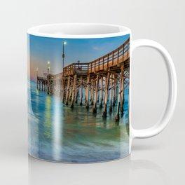 Sunrise Colors at Balboa Pier Coffee Mug