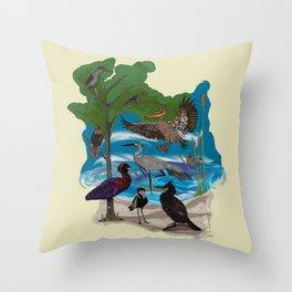 Some Birds Throw Pillow
