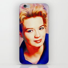 Angie Dickinson, Hollywood Legend iPhone Skin