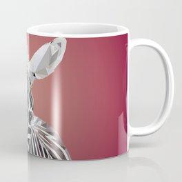 Zebra with Bubblegum Coffee Mug