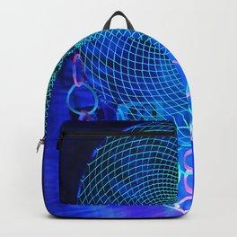 Neon Green Glowing Dreamcatcher Backpack