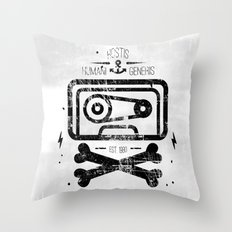 Pirate Tape Throw Pillow