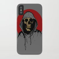 returns iPhone & iPod Cases featuring Skullboy Returns by Matthew Dunn