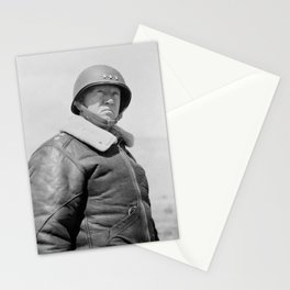 General George Patton Stationery Cards