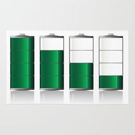 Battery Charge Indicator Rug