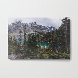 Joffre Lakes Metal Print
