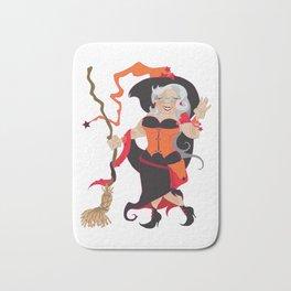 Granny Hex (Orange) Bath Mat