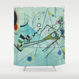 Vassily Kandinsky Composition VIII, 1923 Shower Curtain