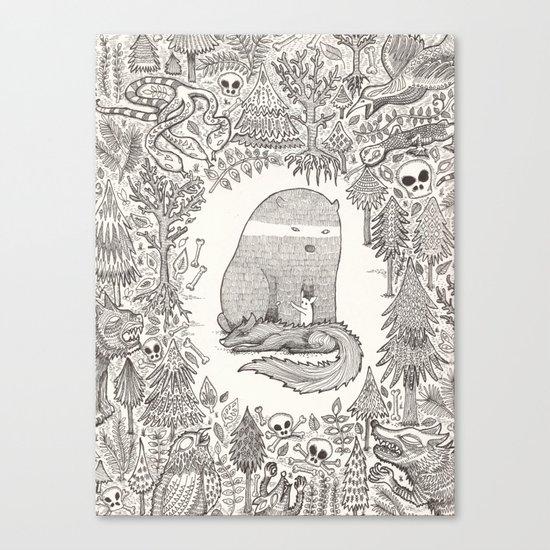 froggle, doggle and poggle Canvas Print