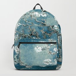 Vincent Van Gogh Almond Blossoms Teal Backpack