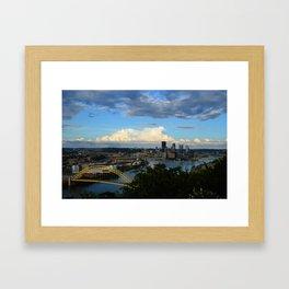 Pittsburgh - 1 Framed Art Print