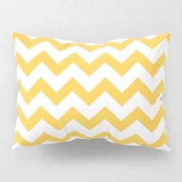 Chevron (Orange & White Pattern) Pillow Sham