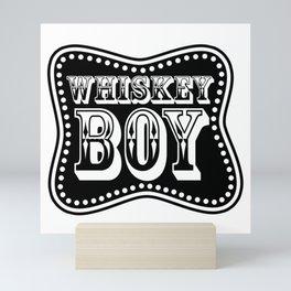 Whiskey Boy Mini Art Print