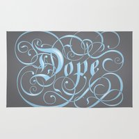 dope Area & Throw Rugs featuring Dope by greckler