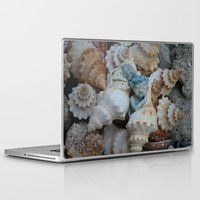 pixies Laptop & iPad Skins featuring Sea pixies by Tracey Burgun
