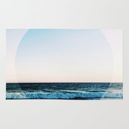 Vibrant Sea Horizon Rug