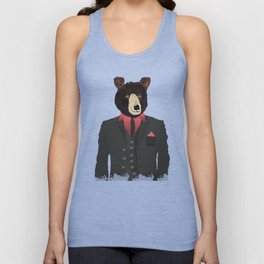 mr grizzly Unisex Tank Top
