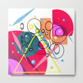 Graphic design,abstract art Metal Print