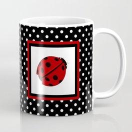 Ladybug And Polkadots Coffee Mug