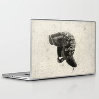 watchmen Laptop & iPad Skins featuring Quis custodiet ipsos custodes? by Lime