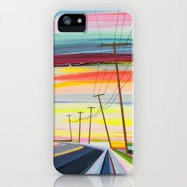 Long Beach Dusk iPhone Case