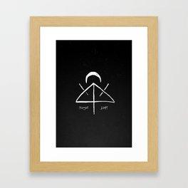 Midnight Thoughts Framed Art Print