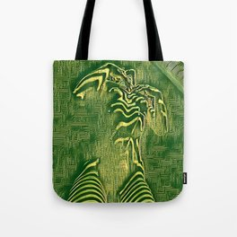 1700s-AK Zebra Striped Female Motherboard Artwork by Maher Tote Bag