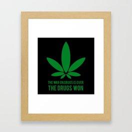 The Drugs Won (2) Framed Art Print