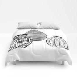 VASE BW Comforters