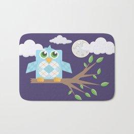 Nighttime Owl Bath Mat
